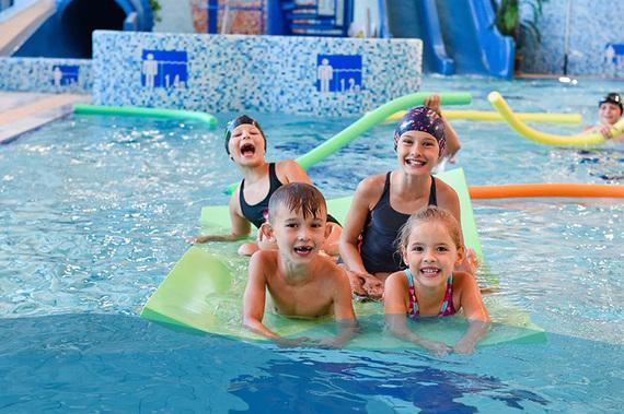 Nauka pływania grupowa